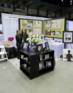 Our booth at the 2013 Savannah Bridal Show at the Civic Center.